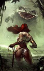 Red Sonja by antoniodeluca