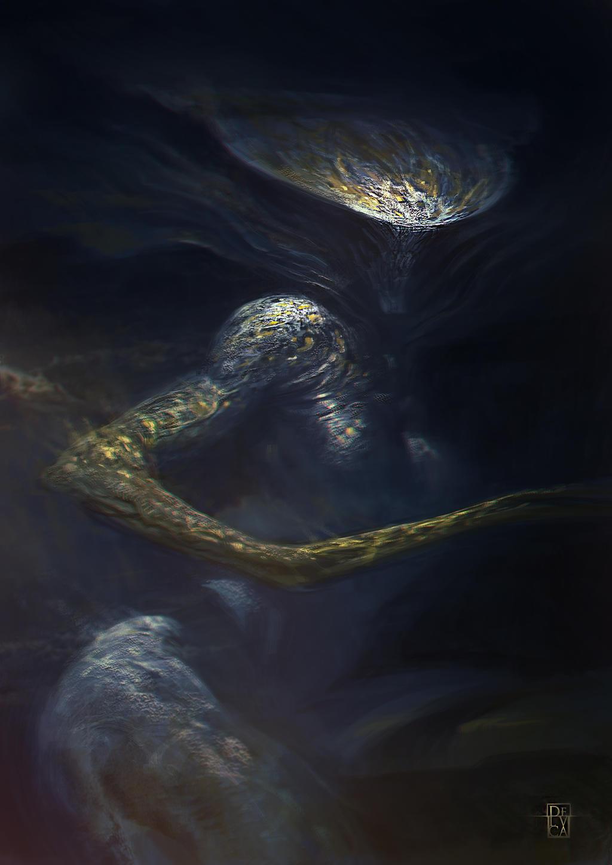 Abyss Alien by antoniodeluca