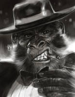 Scimmia by antoniodeluca
