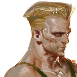 Guile form Street Fighter