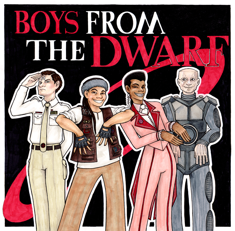 Boys From The Dwarf by Meaju