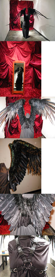 Cosplay Working Wings