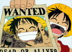 Wanted - Straw Hat Luffy