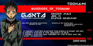 Warriors of Toonami: Ganta Igarashi