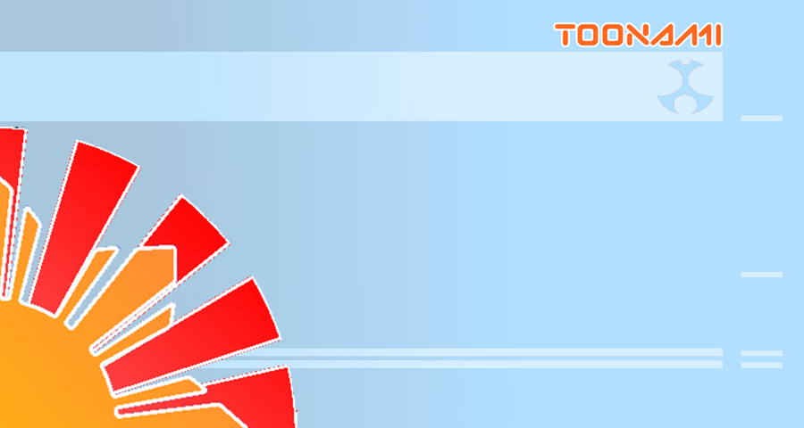 Toonami Rising Sun Template by JPReckless2444