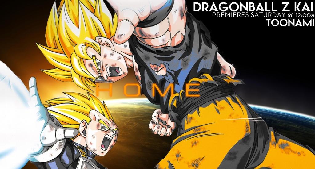 Toonami - Dragonball Z Kai by JPReckless2444