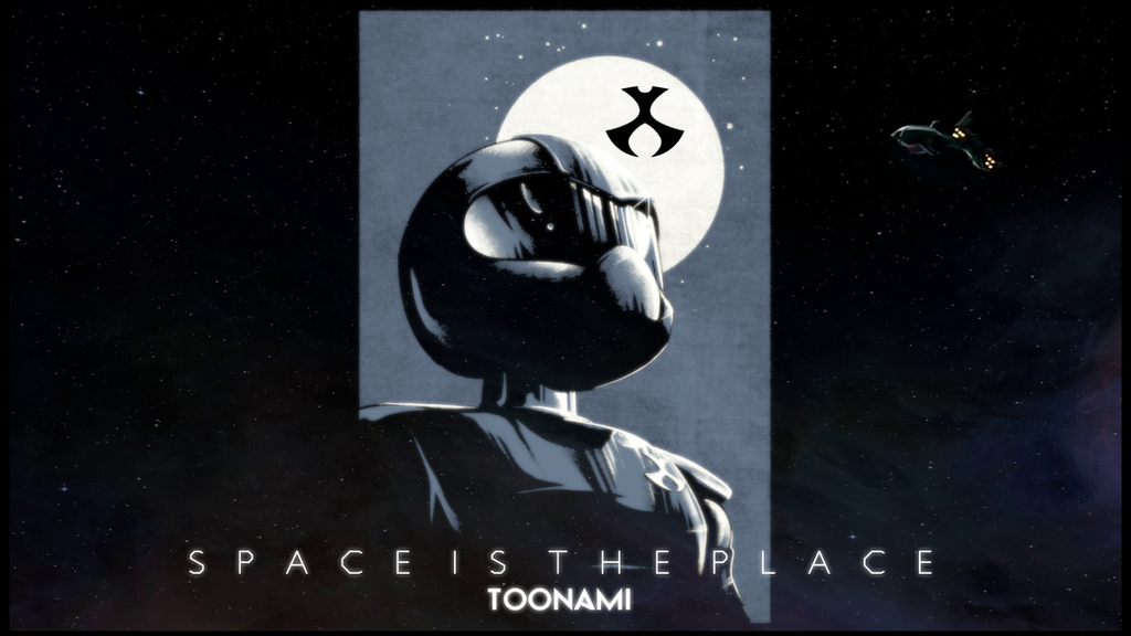 Toonami - Space Is The Place 2015 Wallpaper by JPReckless2444