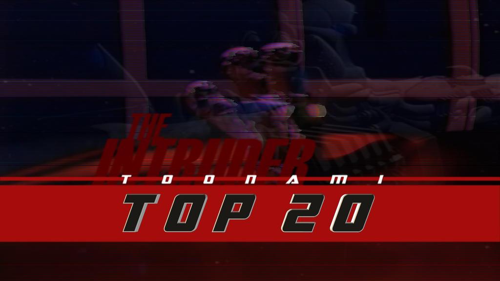 Toonami Top 20 - The Intruder by JPReckless2444