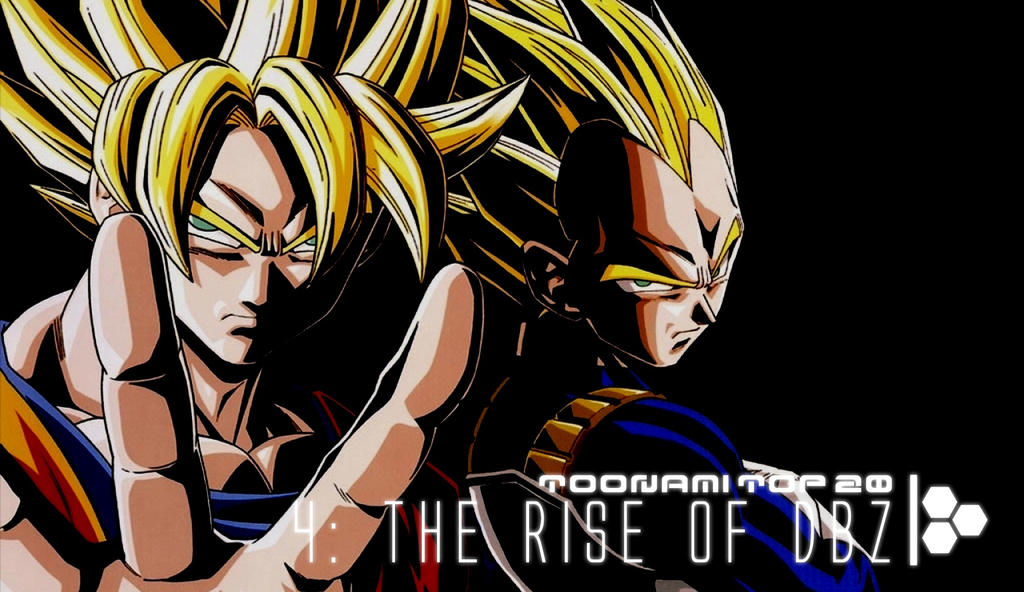 Toonami Top 20 - Rise of DBZ by JPReckless2444