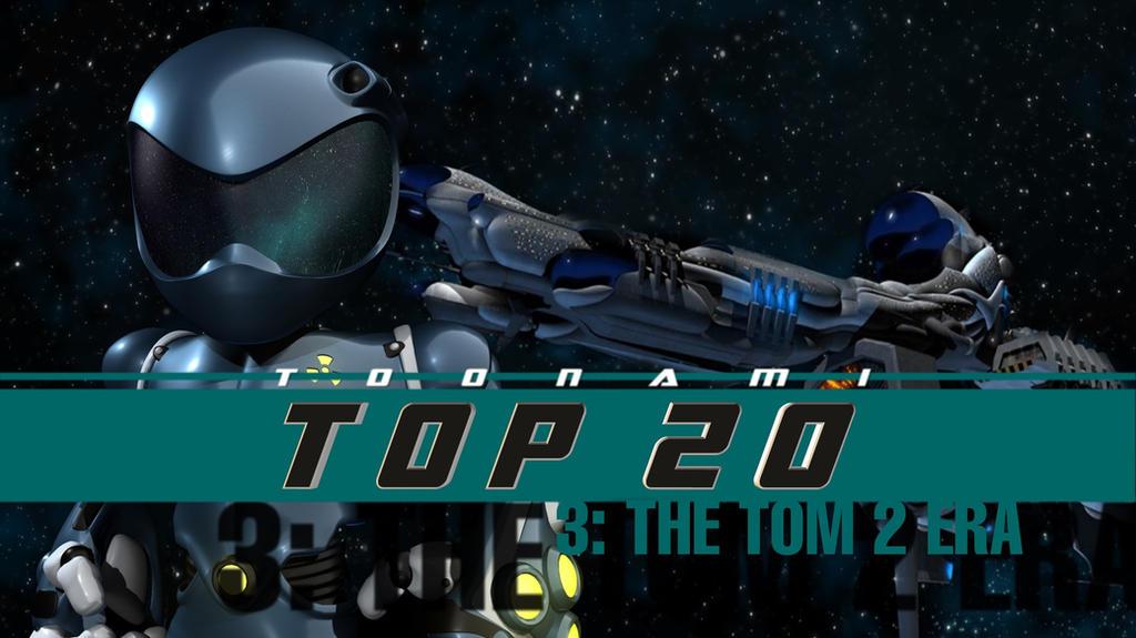 Toonami Top 20 - The TOM 2 Era by JPReckless2444