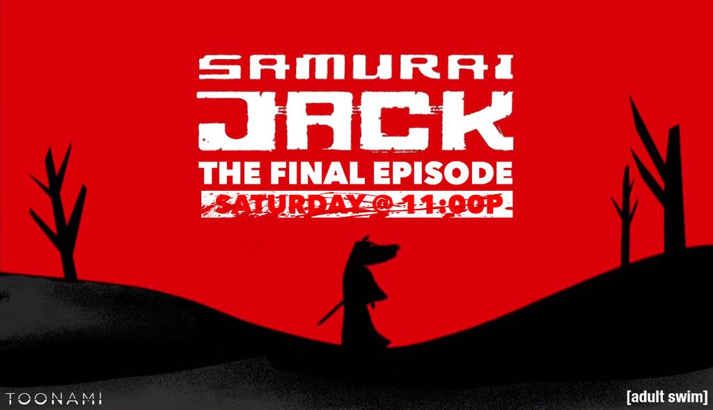 Toonami - Samurai Jack Finale Wallpaper by JPReckless2444