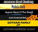 Cinemax Font History