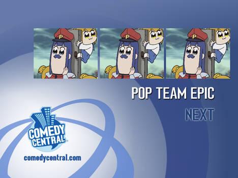Comedy Central - PTE Promo Endboard (2000)