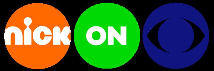 Nick On CBS 2019 concept logo