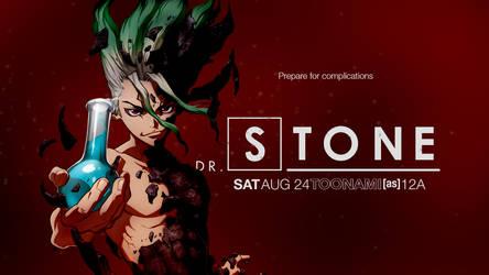 Toonami - Dr. Stone Wallpaper