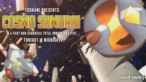 Toonami - Cosmo Samurai Wallpaper
