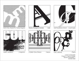 Type Project 1: Type as Design by quarter2seven