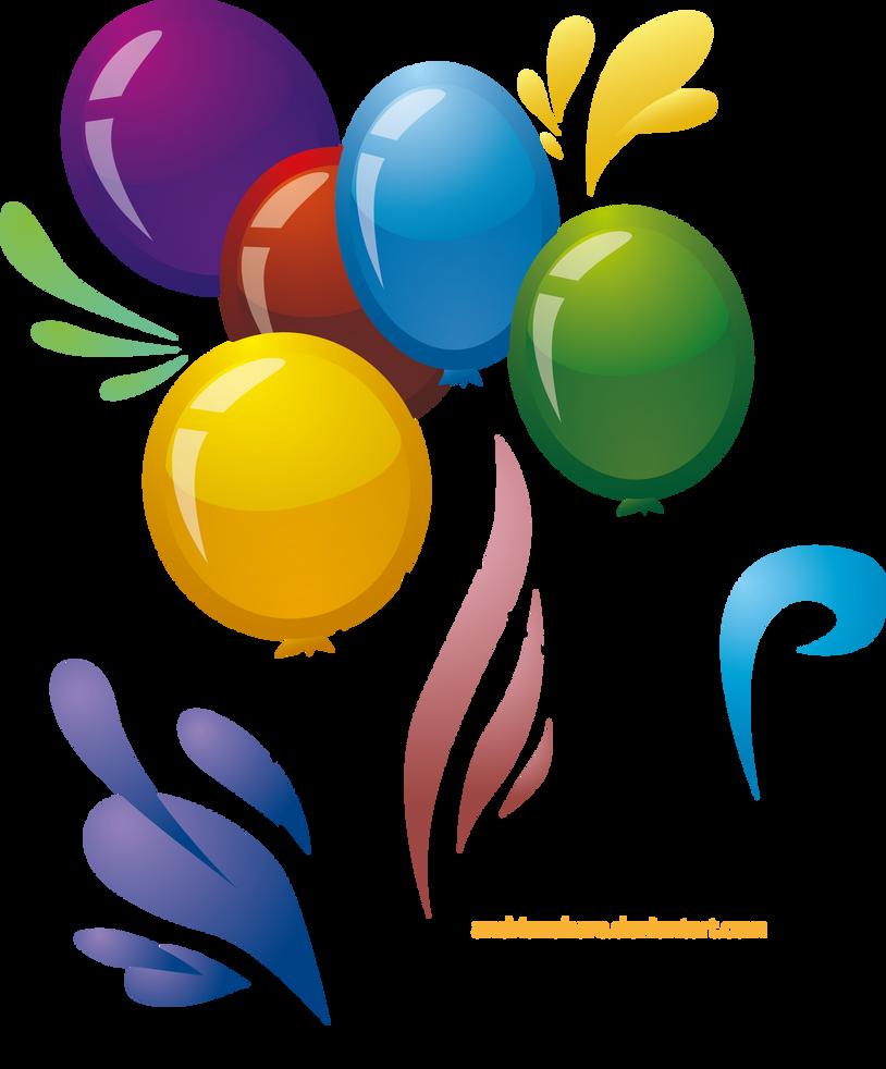 Balloons Vector By RitaRaven