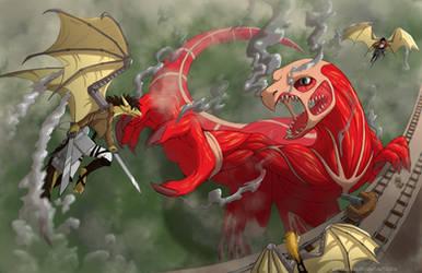 Attack on dragon