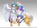 Fantasy mlp: Celestia