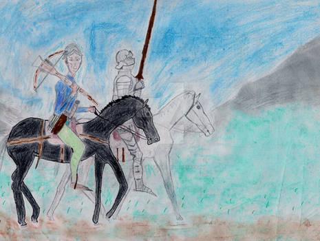German Mounted Crossbowmen