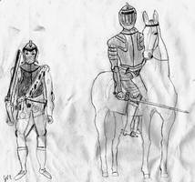 Cuirassier and Arqebusier