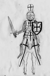 Sword and Black Crosses