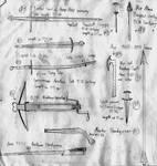 11 Weapons of the 15 .century by GrafvonEichenlaub1