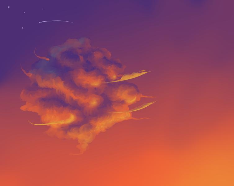 sunset Cloud by Polarhase on DeviantArt