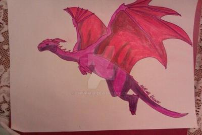 Sunset Dragon by Chynna-B