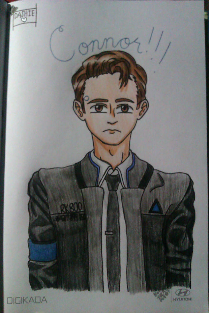 The Android Sent by CyberLife by MusicalNotes334