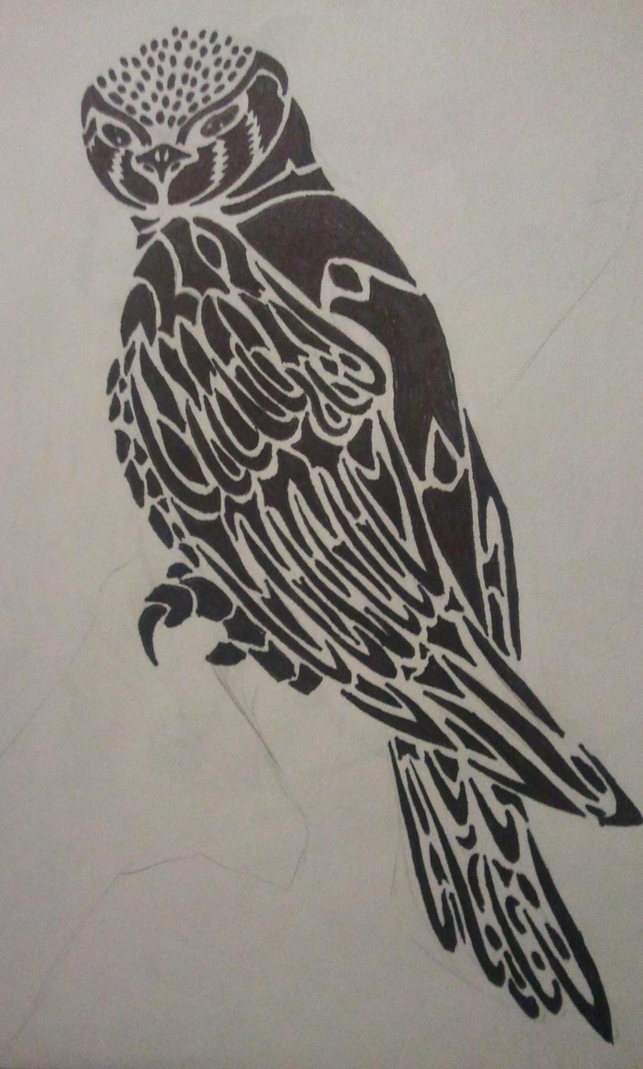 Falcon tattoo design - photo#13