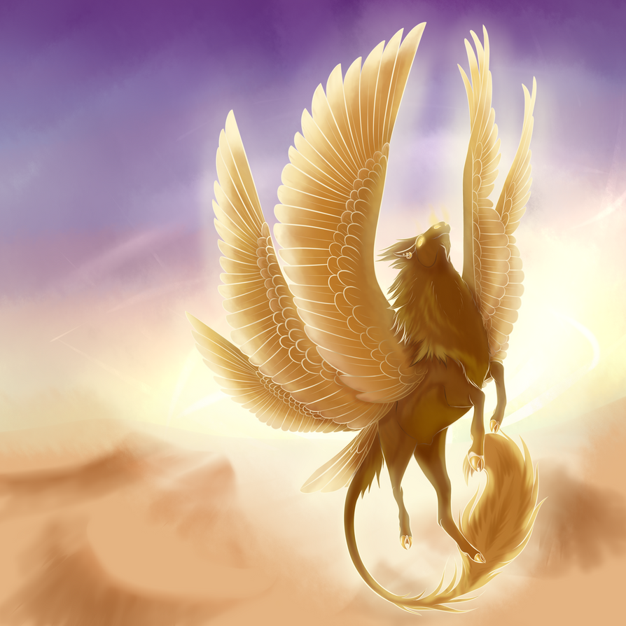 Sun God, Roth by MidnightDireWolf