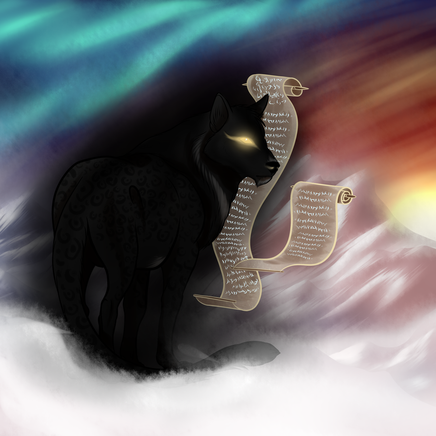 Storm God, Actaeos by MidnightDireWolf