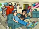 Futurama Roomies