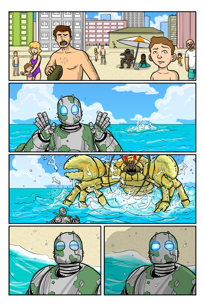 Atomic Robo: BCoC page 2 by Finfrock