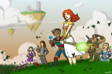The Guild fan art by Finfrock