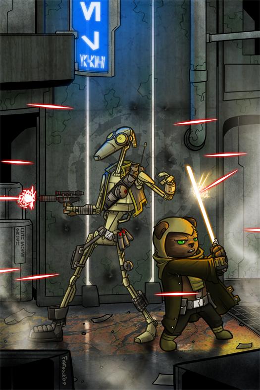 My Star Wars guys by Finfrock