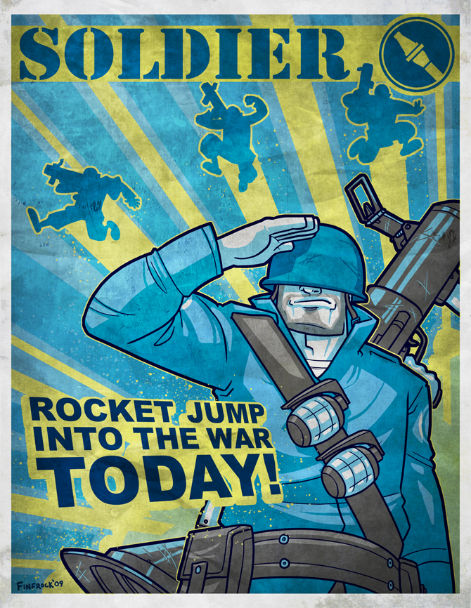 Team Fortress 2 Propaganda by Finfrock