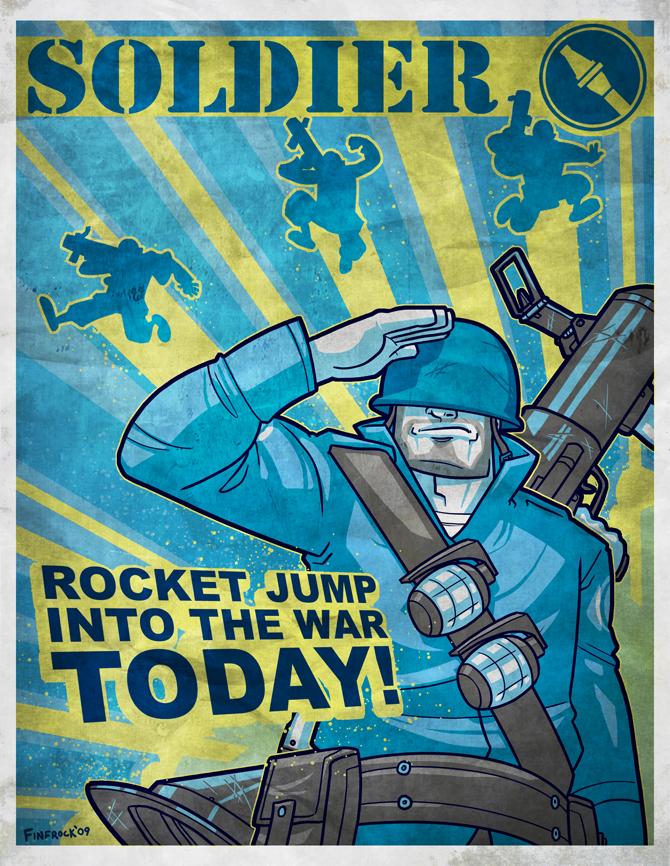 Team Fortress 2 Propaganda by Finfrock