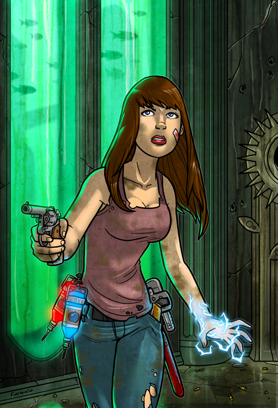 Bioshock'ed Lisa Foiles by Finfrock