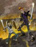 Conan VS Justin