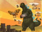 Draw-A-Thon 4 Japan: Godzilla