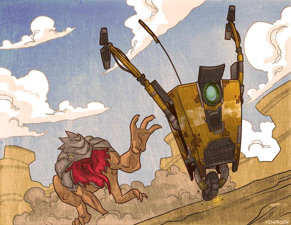 Draw-A-Thon 4 Japan: Claptrap by Finfrock