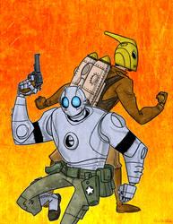 Robo and Rocketeer