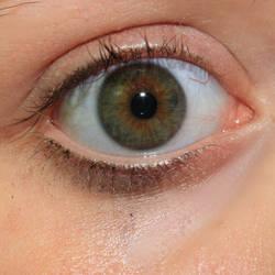Blueish Green Eye Stock