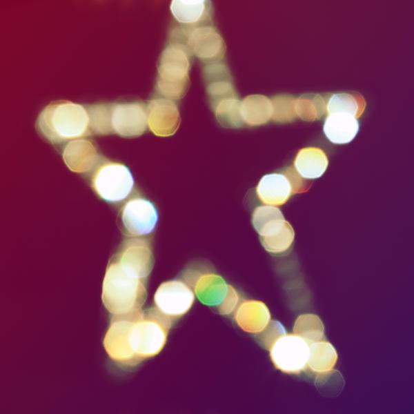 Bokeh Star by asphyxiate-Stock