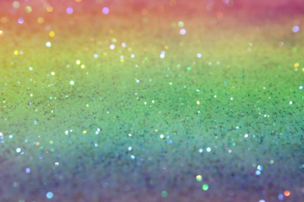 Rainbow Glitter Texture.