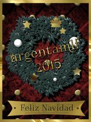 Feliz Navidad - 2015 by argentamlf
