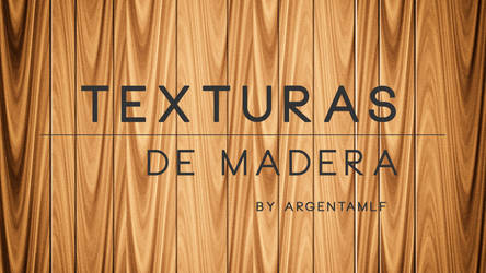 | RECURSOS | Texturas - Madera By argentamlf by argentamlf